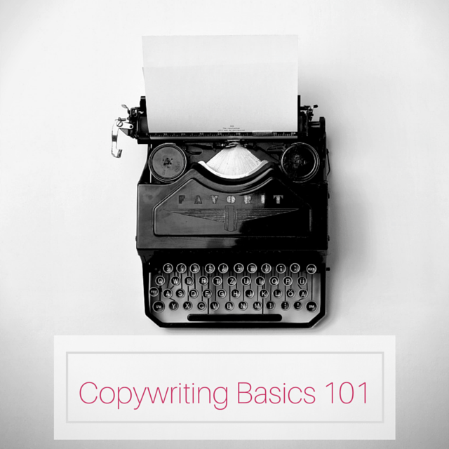 Copywriting Basics 101