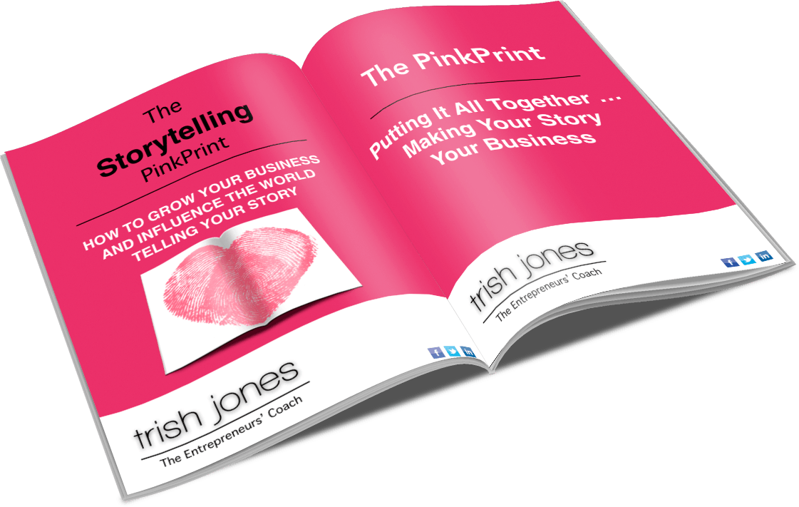 The Storytelling PinkPrint Book Image