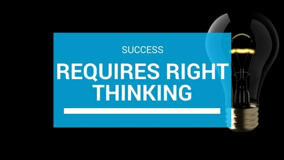 Success and Right Thinking